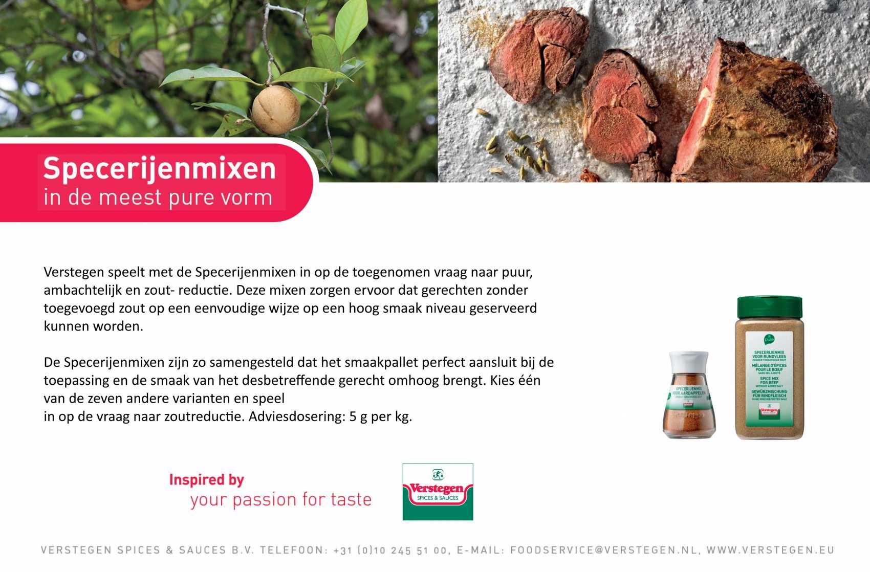 Advertentie Verstegen Spices Sauces BV_207